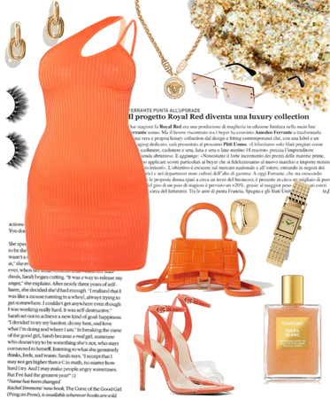 orange night out outfits