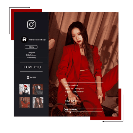 마리오네트 (𝗠𝗔𝗥𝗜𝗢𝗡𝗘𝗧𝗧𝗘) - [KIRA VER.] 'I Love You' Concept Photos
