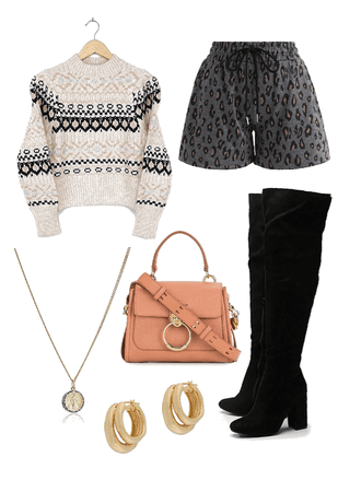 sweaters and boots all year round