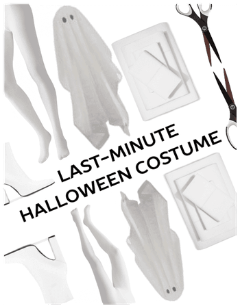 Last Min Easy Quick Costume-Ghost