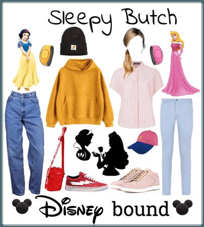 Snow White and Aurora butch Disney bound