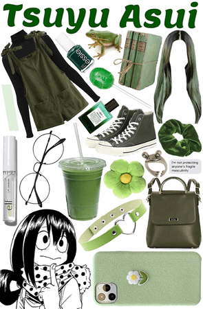 Tsuyu Asui Inspired Outfit