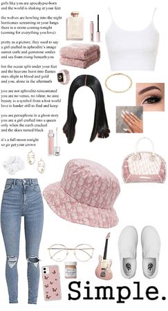 hat outfit!!