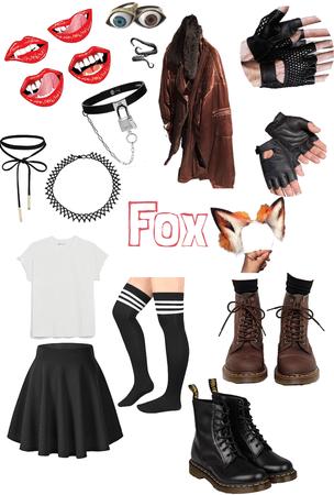 Fox Girl Aesthetic