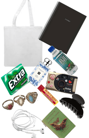 what's in my tote bag