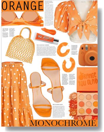 orange monochrome 🧡