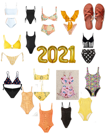 Cute swimsuits to slay 2021 in
