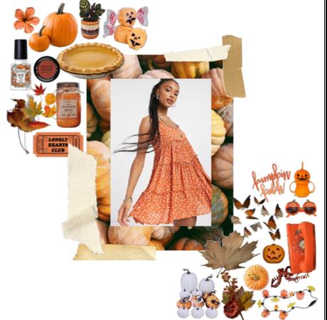 pumpkin patch aesthetic