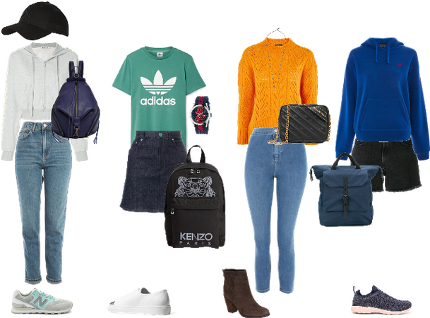 Outfits that i wear in school