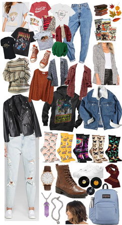 Autumn (October-November) School Wardrobe