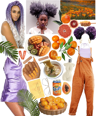 Summer filled with fruit🧡💜