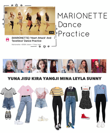 {MARIONETTE} 'Heart Attack' + 'love4eva' dance practice