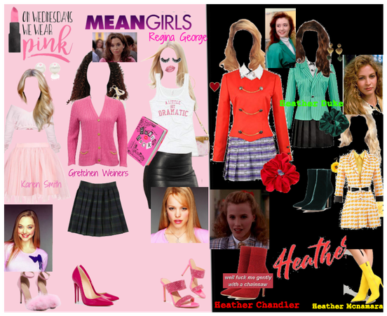 MEAN GIRLS VS. HEATHERS