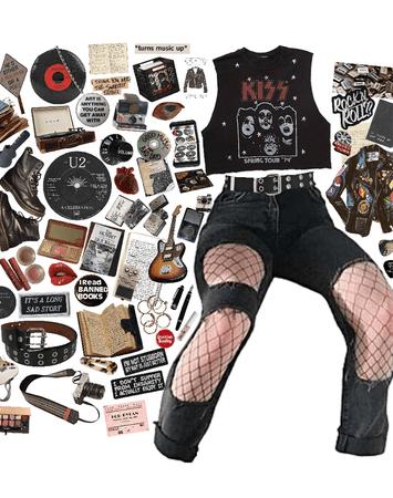 dark academia grunge rock??