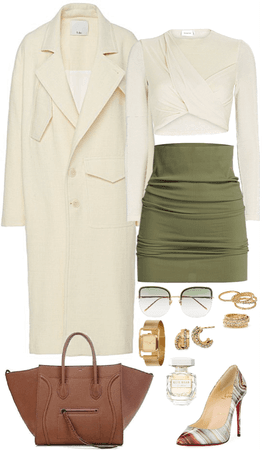 love the neutral palette of this look