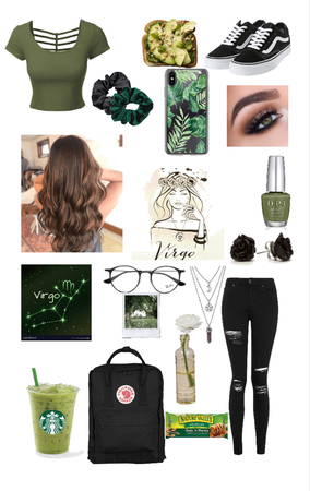 Virgo in Green (love being a Virgo)