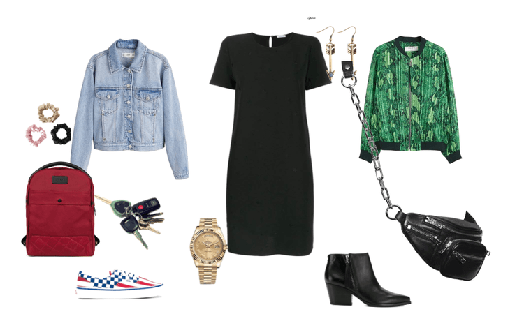 Outfit natural dia- noche