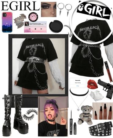 egirl outfit cause I'm bored