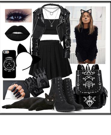 black cat costume 🖤🐈