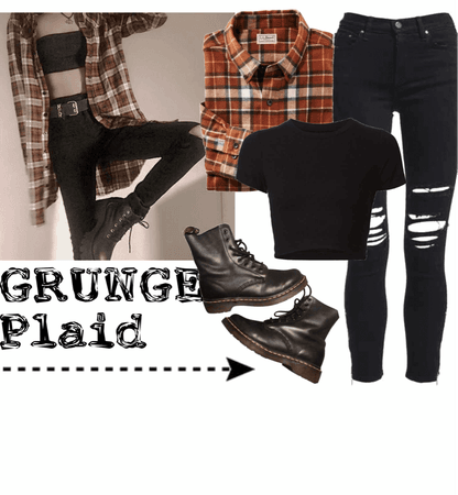STYLE ALERT: Grunge Plaid Trend