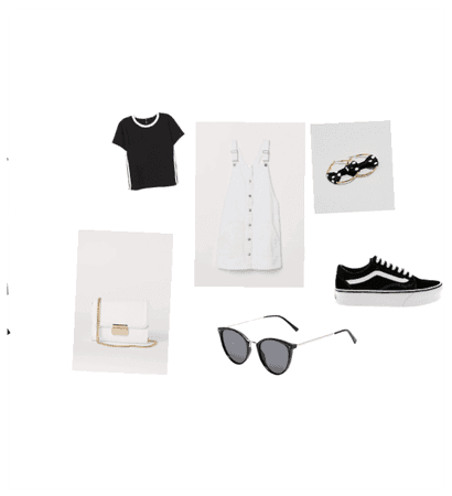 Black and White outfit $88 £78