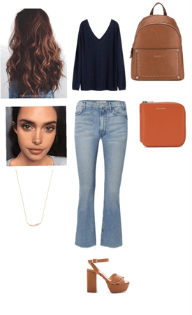 going out outfit/makeup look