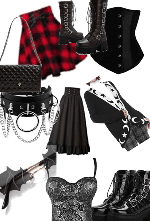 Gothic/egirl
