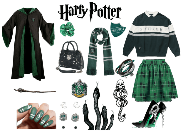 Slytherin . Outfit
