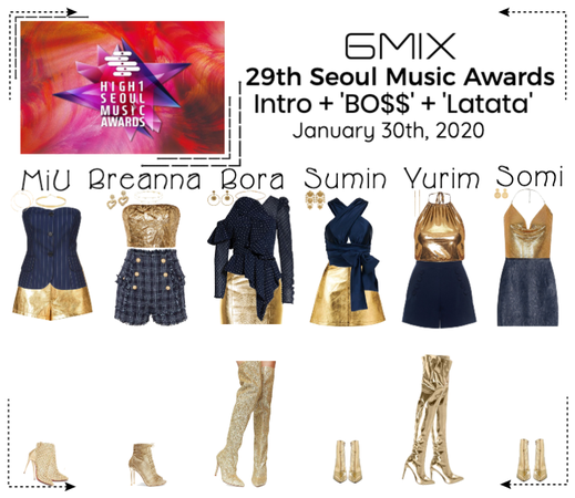 《6mix》29th Seoul Music Awards Performance