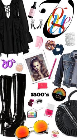 1500's/1960's/1980's Style