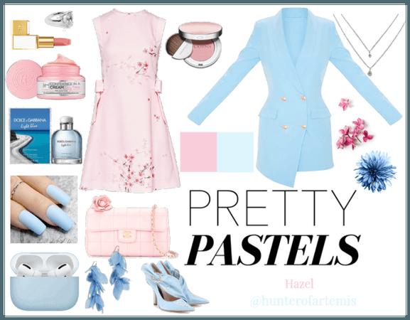Pretty Pastels | Pink & Blue | @hunterofartemis