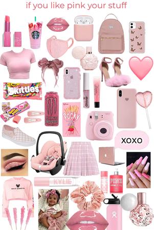 pink 💕🌸🎟