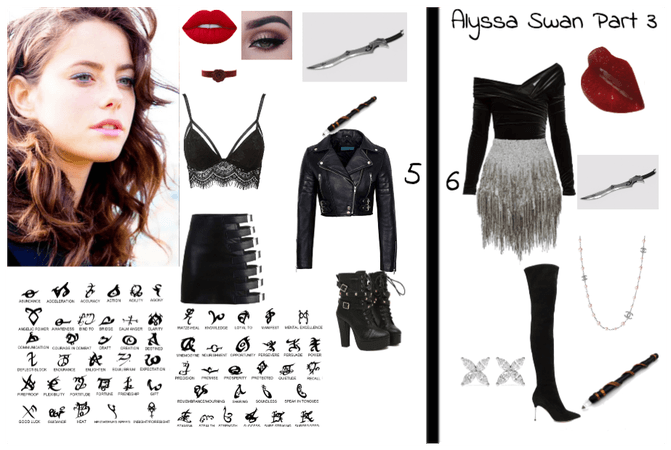 Alyssa Swan Outfits 5&6