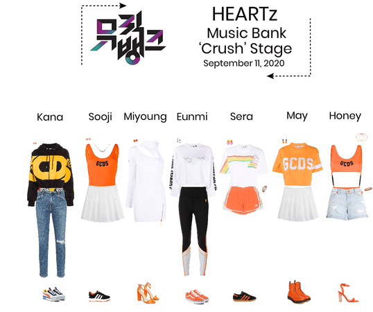 HEARTz// 'Crush' Music Bank Stage