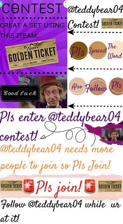 🚨PLS JOIN @teddybear04 contest!🚨