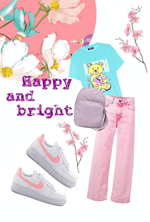 bright and happy