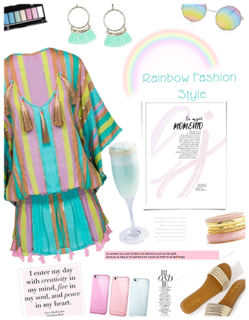 Rainbow Fashion Style