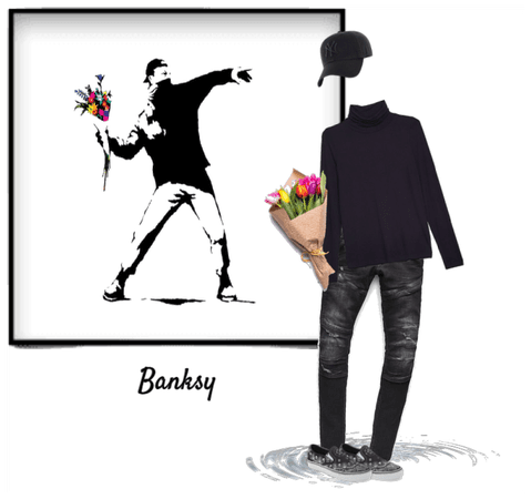 Inspired by Banksy
