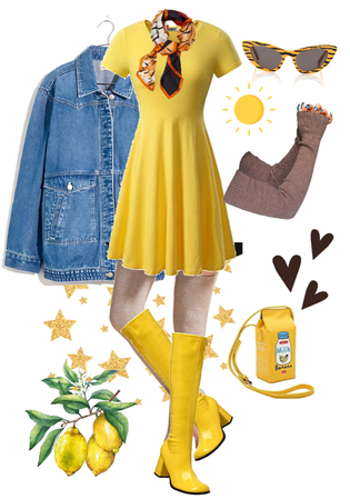 yellow character