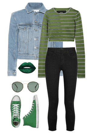 St. Patrick's Day School Outfit