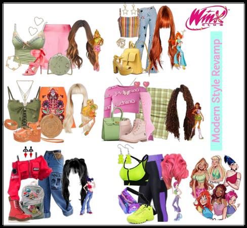 Winx Club Modern Fashion Revamp