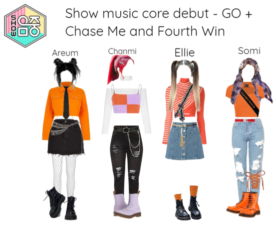 [ACES] Show Music Core debut + Fourth Win