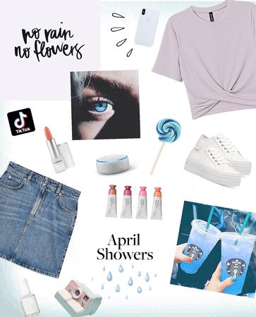 #april showers😇