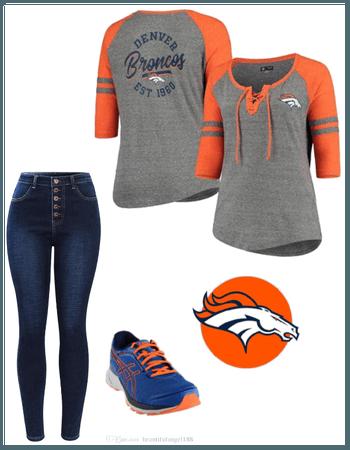 Denver Broncos Outfit