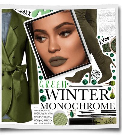 MONOCHROME GREEN 💚💚💚