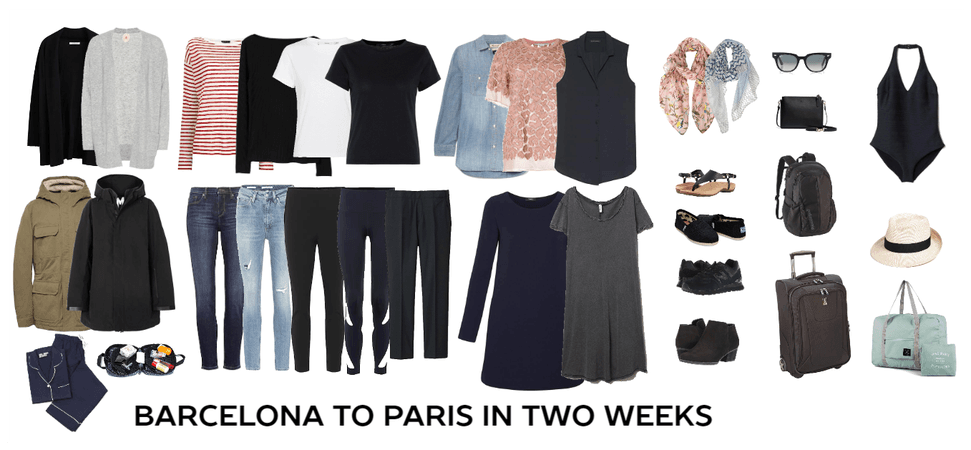 Barcelona to Paris in Two Weeks