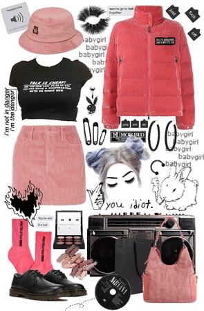 Pink Corduroy