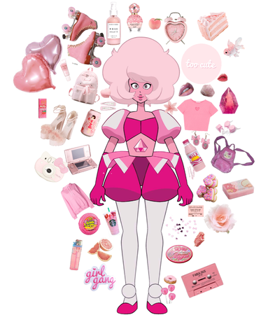 pink diamond moodboard thing