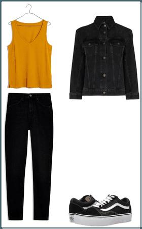 Outfit casual, Triángulo invertido