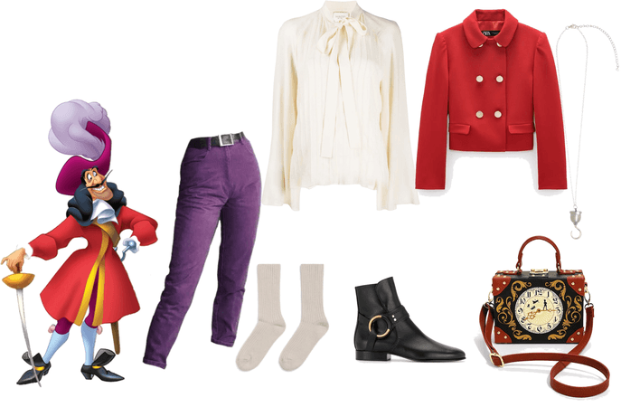 Peter Pan- Captain Hook inspired outfit